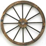 Western Wood Wagon Wheel wall Decor Review