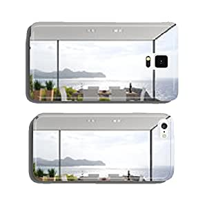 Interior design overlooking the sea cell phone cover case Samsung S5