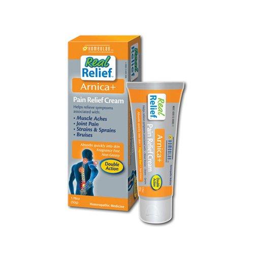 Homeolab réel soulagement Arnica + Pain Relief Cream, 1,76 oz
