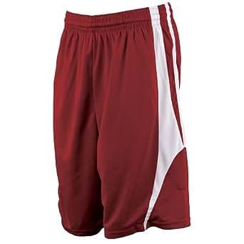 Amazon.com : Alleson Reversible Basketball Shorts - Maroon