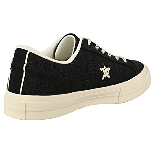 One Adulte De Lifestyle Fitness Converse Ox Mixte Suede Chaussures Star Noir fTxw5z