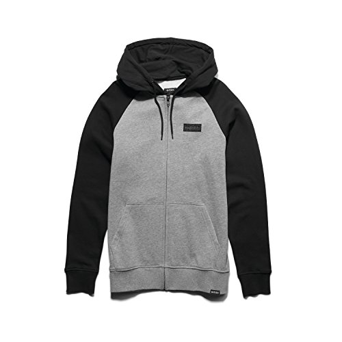 Etnies Mens Core Icon Hoody,Medium,Black/Grey