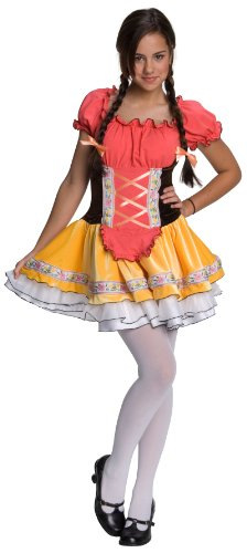 (Heidi Child Costume Size 12-14)