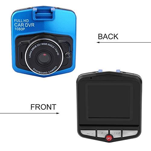 HoganeyVan Driving Recorder//Portable Car Video Recorder 2.4 Pulgadas LCD Coche DVR C/ámara 720P Resoluci/ón Veh/ículo Video Recorder Camera Dash Grabador de conducci/ón Negro