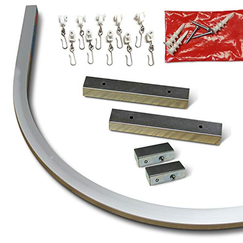 Aluminum Ceiling Track Bend (90˚ Bend)
