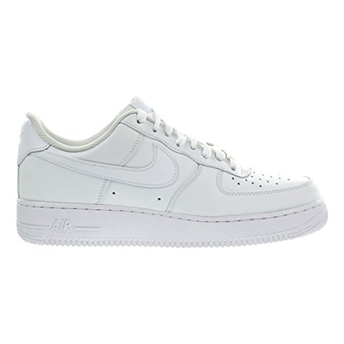 Nike Unisex-erwachsene Air Force 1 '07 Lav-top Hvid, Hvid
