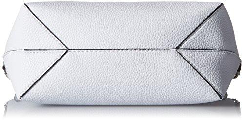 Indovina Damen Hwpt6422210 Shopper, Schwarz (bianco Nero), 12,5x27x42,5 Cm