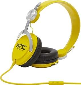 "WeSC Bass Premium - Auriculares (Supraaural, Diadema, 20 - 20000 Hz, Alámbrico, 3.5 mm (1/8""), 1 m) Amarillo"