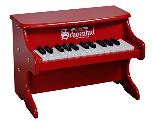 Schoenhut 25-Key My First Piano II, Red