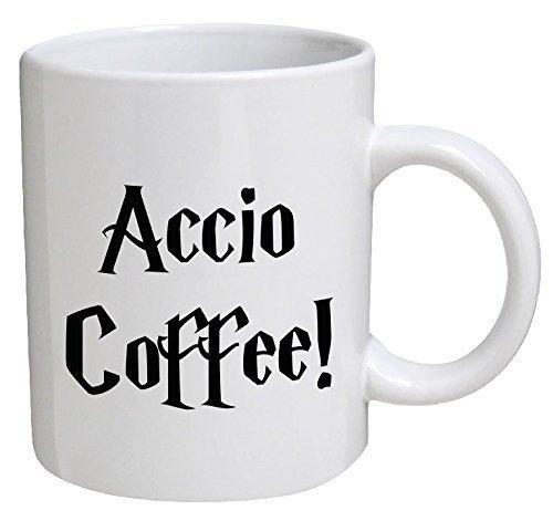 Funny Mug - Accio Coffee - 11 OZ Coffee Mugs - Funny Inspirational and sarcasm - By A Mug To Keep TM