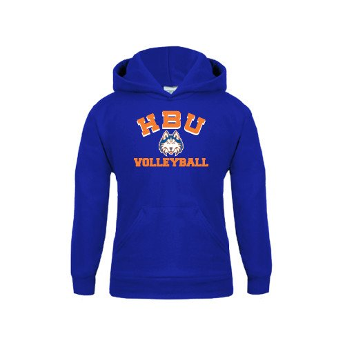 Houston Baptist Youth Royal Fleece Hoodie Volleyball