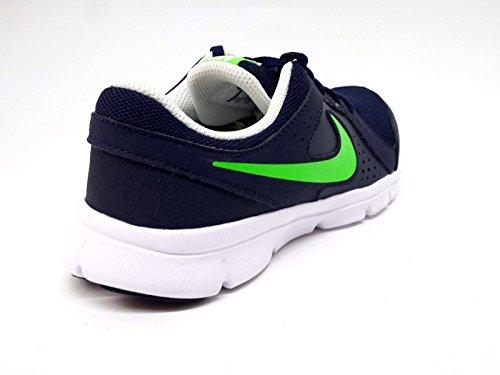 Nike Flex Experience LTR (PSV) Zapatillas de running, Niños Negro / Verde (Obsidian / Voltage Green-White)