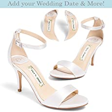 7bb4c9a58 Bridal Women's High Heel Ivory Satin Wedding Shoe – Kate Whitcomb Shoes  style.