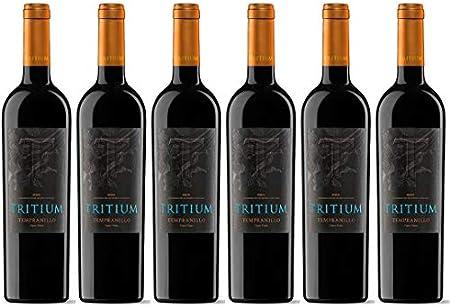 Tritium Vino Tinto Cepas Viejas - 6 Botellas - 4500 ml