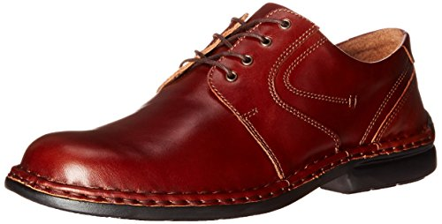 Josef Seibel Men's Walt Oxford, Brandy, 45 BR/11-11.5 M US