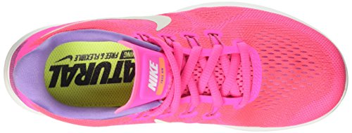 Nike Running Free de Explosion Brillant Chaussures Run Rose Coureur Mangue Cassé Blanc Rose Rose 2017 Femme qnpxUBq