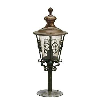 Lámpara de pie para jardín sueño Antiguo forjado hierro ...