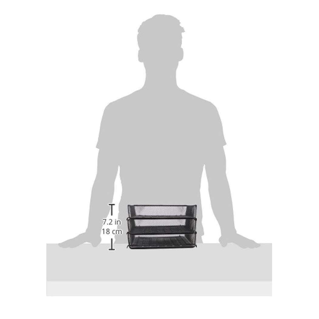 Basics Mesh Desk Drawer Office Organizer