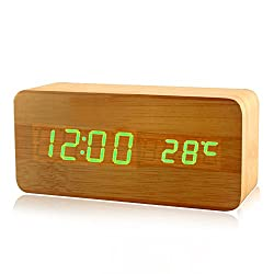 Ieasycan Registered Mail New LED Alarm Clock with Old style LED display electronic desktop Digital table Clock For Birthday Gift