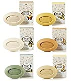 South of France Bath Bar Soap Variety Pack Sampler; 6 Assorted Scents In Full-Size 6 Ounce Bars