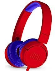 JBL JR 300 - On-Earheadphones for Kids - Red