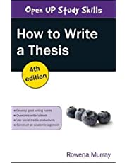 How to Write a Thesis, 4th Edition