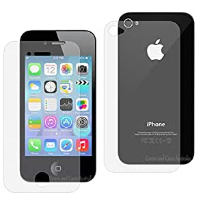 JCPAL iPhone4/4S iWoda screen protector Front and back-AG