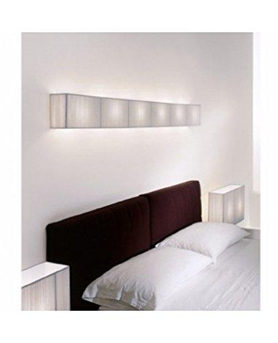 - Clavius GR big wall light - ivory white, 2 x 24W fluorescent, 220 - 240V (for use in Australia, Europe, Hong Kong etc.)