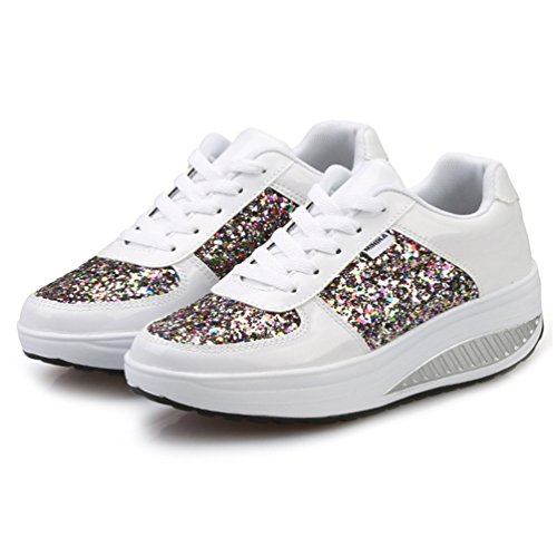 zhenghewyh Anti Dimagranti Scarpe Outdoor Scivolo Fitness Donna bianca 1 Sneakers Sportive rT1nPWr0