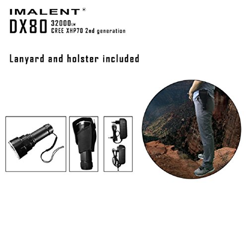 Coerni LED 32000 Lumens The Most Powerful Flashlight - Rechargeable,Waterproof,Support Dimmer 5-8 files by Coerni (Image #3)