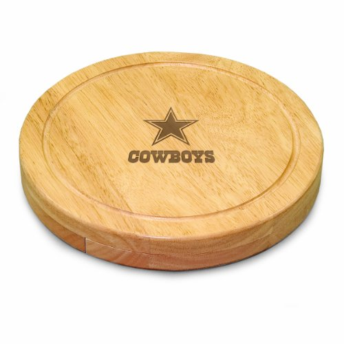 - NFL Dallas Cowboys Circo Cheese Board/Tool Set, 10-Inch