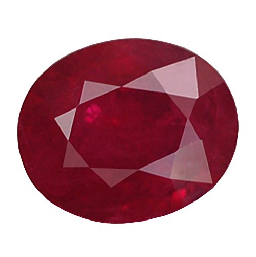 (Ploythai 2.07CT SENSATIONAL AA OVAL HEATED ONLY PIGEON BLOOD RED RUBY NATURAL)