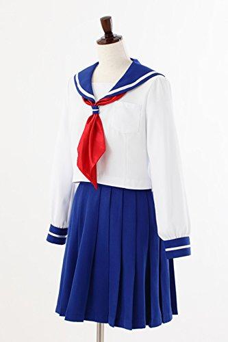 Pretty soldier sailor moon Crystal municipal turf Park junior high school uniform women's official costume ladies l