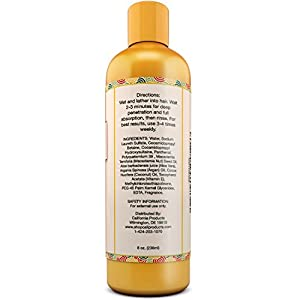 Natural Anti Hair Loss Shampoo For Men & Women – Hair Loss Prevention & Regrowth Shampoo – Helps with Dry Hair – With Argan Oil and Aloe Vera – Good For Everyday Use – 8 Fl Oz – California Products
