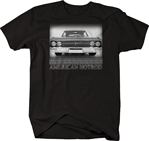 Retro - American Hotrod Oldsmobile Olds F-85 Original Cutlass Tshirt - 3XL Black