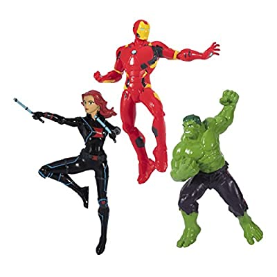 SwimWays Marvel Avengers Dive Characters - Iron Man, Black Widow, and Hulk: Toys & Games
