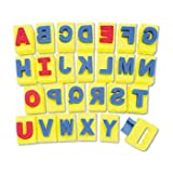 Chenille Kraft® Handle Sponge Alphabet Set HANDLE,SPNGE ALPHA,26,AST (Pack of5)