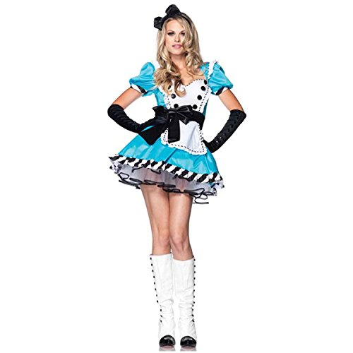 Charming Alice Adult Costume (Charming Alice Costume - Medium/Large - Dress Size 8-12)