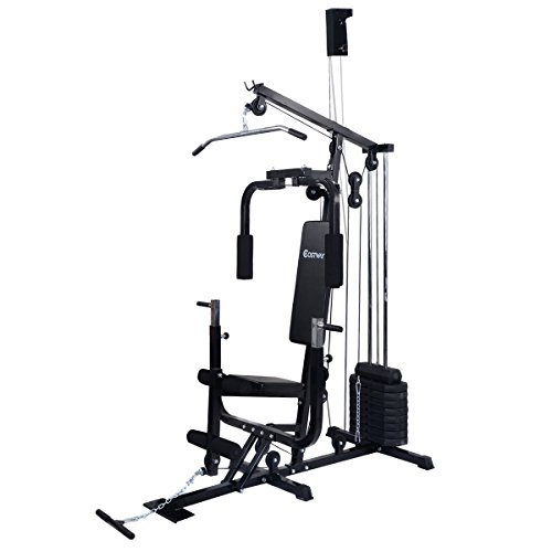 COSTWAY Home Gym Weight Training Exercise Workout Equipment Fitness Strength Machine