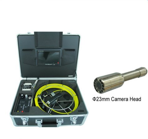- MABELSTAR Portable hand type 420TVL cmos color underwater pipe inspection camera with 30m cable