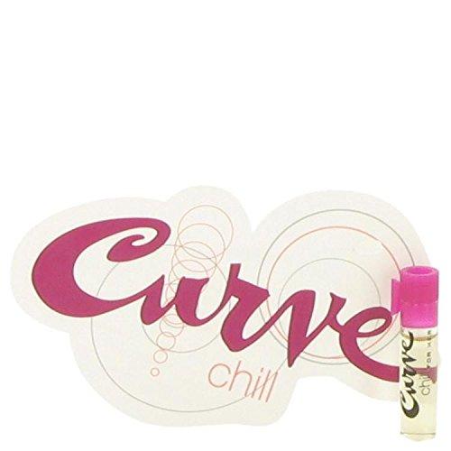 Liz Vial Claiborne Parfum (Curve Chill by Liz Claiborne Women's Vial (sample) .05 oz - 100% Authentic)