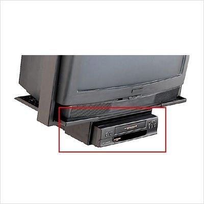 Peerless Adjustable VCR Mount Vpm 45-J - Bracket - Steel, Epoxy - Black (Peerless Vcr Mount Bracket)