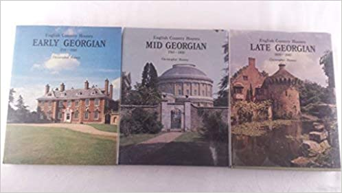 Buy English Country Houses: Early Georgian, 1715-60, Mid