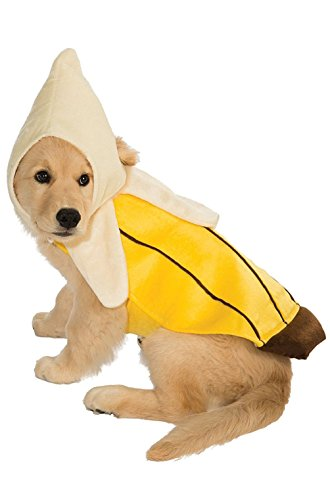 Fashion Banana Fruit Pet Dog Costume New