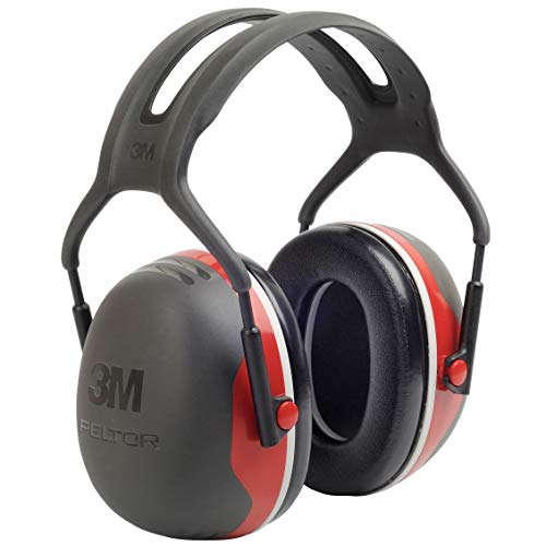 3M Peltor X-Series Over-the-Head Earmuffs, NRR 28 dB, One Size Fits Most, Black/Red X3A (Pack of 1) Price & Reviews