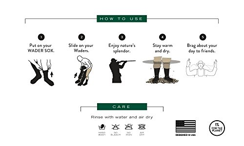 Review WETSOX Wader Sox, Reed Camo Hunting and Fishing Socks, 1mm Neoprene Keeps Feet Warm Wet or Dry
