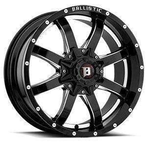 PRESTIGE WHL 9552PGBXL Flat Black 845 Morax (17'' X 9'', 12 Offset, 5X127 Bolt Pattern, 83.7Mm Hub)