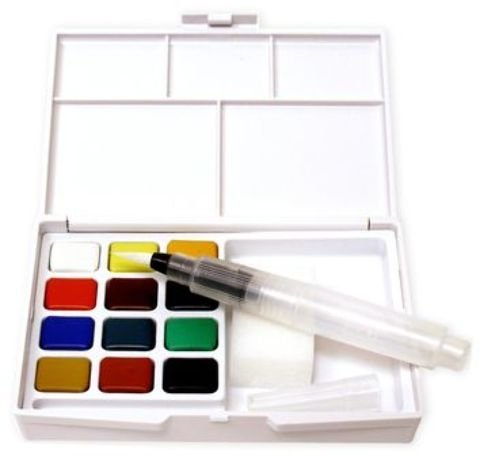 Sakura Koi Watercolors Pocket Field Sketch Box Set 1 pcs sku# 1831918MA -