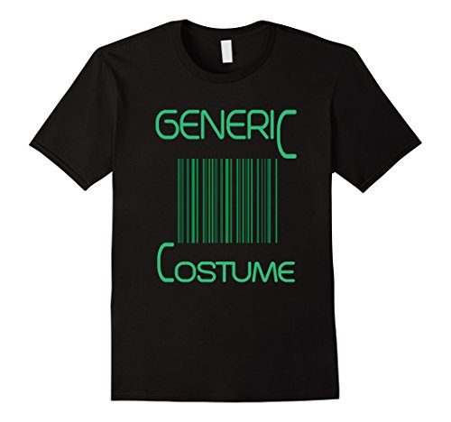 Men's FUNNY GENERIC HALLOWEEN COSTUME T-SHIRT Large Black (2)