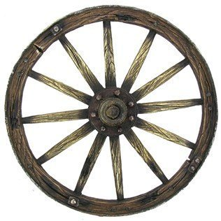 Brown Wagon Wheel
